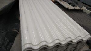 Láminas de acrílico para techos